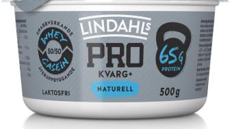 Lindahls PRO+ som är producerat i Sverige av svensk mjölk kommer nu också i en 500g förpackning, i smakerna Naturell samt Strawberry & Lime pie.