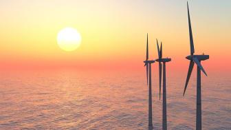 Den første av 20 offshore vindturbiner med bøttefundamenter som installeres med bruk av sug installert vellykket på Borkum Riffgrund 2 i tysk sektor.