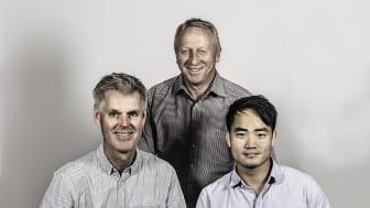 Einar Thorén, Thaison Vu og Terje Gravdal i Trainor har høye ambisjoner og stor tro på Vietnamsatsningen.