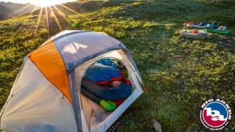 Billede ovenfor: Big Agnes udvikler og fremstiller telte, soveposer, luftmadrasser, campingudstyr m.m. i høj kvalitet.