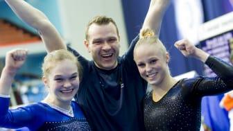 Öppet hus i för gratulanter och media i Eskilstuna Gymnastikförening måndag 22 april kl 17,00