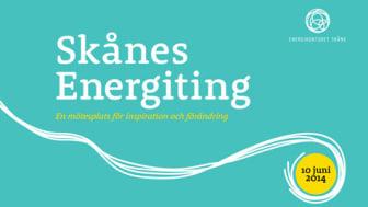Pressinbjudan Skånes Energiting 2014 - En mötesplats för inspiration och förändring