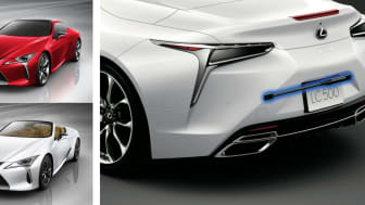"""""""LEXUS LC500"""" and """"LEXUS LC500 Convertible"""" with """"Yamaha Performance Dampers"""""""