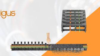 E4Q/R4Q är den nya generationen kabelkedjor från igus®