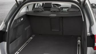 Nya Peugeot 308 SportWagon bagageutrymme