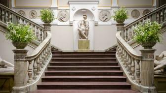Bild från Nikesalen inuti Konstakademien på Fredsgatan i Stockholm