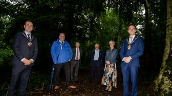 Chaines Wood in Ballygally has been officially opened as a Local Nature Reserve and a haven for the under-threat red squirrel.