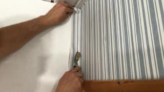 DIY-guide för spackling och tapetsering