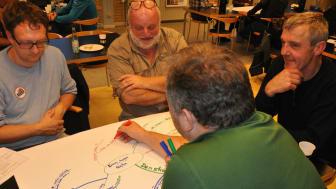 Når arrangementerne til Klima Rebild planlægges, arbejder arrangørerne sammen på tværs af myndigheder, organisationer og foreninger. Foto: Rebild Kommune