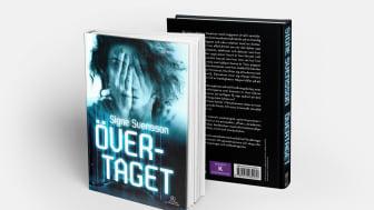Boken Övertaget, skriven av författaren Signe Svensson i samarbete med mySafety Försäkringar