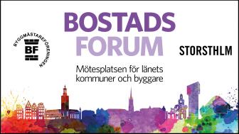 Mötesplatsen för länets kommuner och byggare -ett samarbete mellan Stockholms Byggmästareförening och KSL (Kommunerna i Stockholms län).
