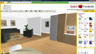 Provbo bostaden virtuellt