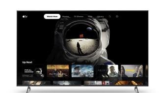 A Sony lança a app Apple TV em smart TVs selecionados
