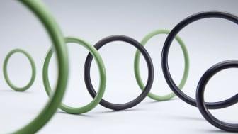 O-ringar i alla möjliga färger och material finns överallt runtomkring oss.