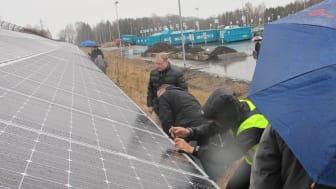 Inte bara solceller. Solar Park Helsingborg ger utlopp för viljan att göra en insats.