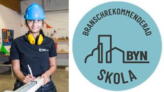 Yrkesgymnasiet i Umeå har blivit BYN-certifierat.