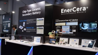 EnerCera – a new Li-ion battery solution to eliminate bottlenecks in IoT power supply
