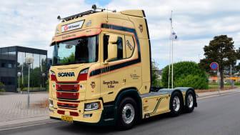 Allerød Transporten fik tidligere på sommeren leveret Scania V8 Limited Edition nr. 11.