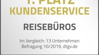 alltours Reisecenter erneut für ihren Kundenservice ausgezeichnet. (Foto: alltours Reisecenter)