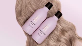 Rapunzel of Sweden lanserar ny hårvårdsserie för blonda hår - Silver.