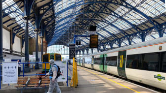 Brighton station: Applying 30-day viruscide