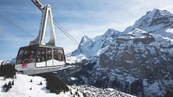 Schilthornbahn (c) Jungfrau Region Tourismus, Markus Zimmermann