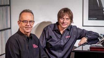 Thomas Lantz, ordförande & Jan Lundgren, konstnärlig ledare, Ystad Sweden Jazz Festival