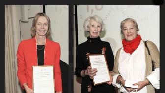 Glada stipendiater, Mia von Euler,  Cecilia Ribbing och Beata Kriström