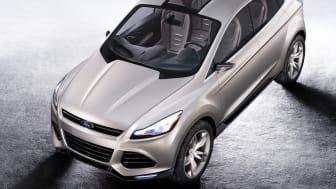 Ford Vertrek ger prov på en slimmad, sportig och elegant kompakt-SUV