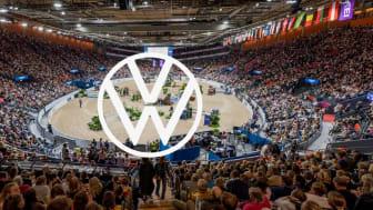 Volkswagen är ny Official Car för Gothenburg Horse Show. Foto: Johan Lilja