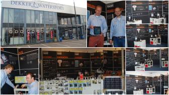 Digital Yacht build new customer  experience at Dekker Watersport's Amsterdam superstore