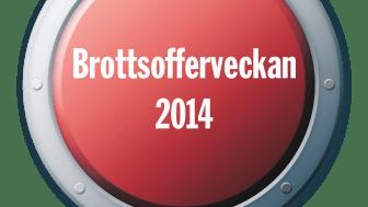 Nu inleds Nationella Brottsofferveckan 2014