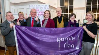 We'll keep the Purple Flag flying here!