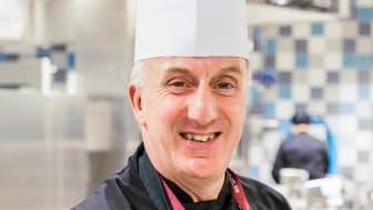 Kostchef Mikael Cederberg.