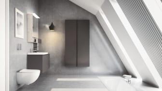 Geberit Acanto -kylpyhuonesarjan modulaarisuus taipuu joustavasti yksilöllisiin ratkaisuihin olipa suosikkityylisi minimalistinen, romanttinen, teollinen tai elegantti. Tilan ilme voi syntyä myös yhdistelemällä eri tyylien viehättäviä piirteitä.