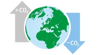 CO2 Illustration