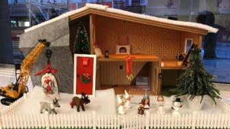Gamla huset görs adventsfint innan det är dags för den stora ombyggnaden.
