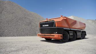 Scania AXL, selvkørende koncept-lastbil uden førerhus