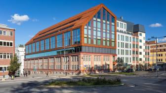 Trikåfabriken - en hybrikdbyggnad i Hammarby Sjöstad