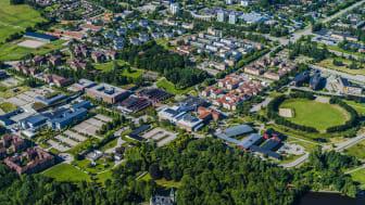 Videums fastigheter omfattar 110 000 kvadratmeter fördelat på 30 byggnader.