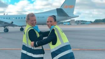 Stolta och trygga medarbetare hos Air Leap och Air Gotland