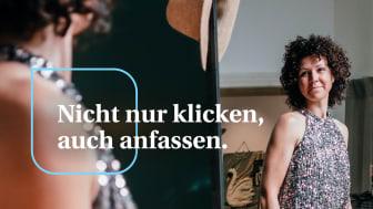 """Die Kampagne """"Nicht nur klicken, auch anfassen!"""" unterstützt den lokalen Einzelhandel. Foto: Christian Wiediger/unsplash.com"""