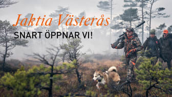 Jaktia fortsätter expandera och öppnar butik i Västerås