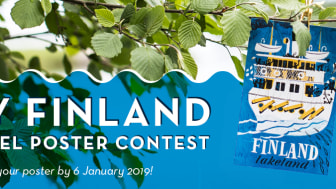 Kansainvälisen matkailujuliste 2019 -kilpailun aiheena on Saimaa