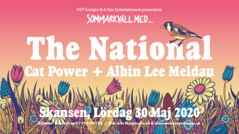 Cat Power ansluter till The Nationals sommarkväll på Skansen