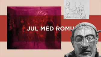 Julen med ROMU bliver mere digital - men stadig hyggelig også i år. Grafik: Amalie Wulff /ROMU