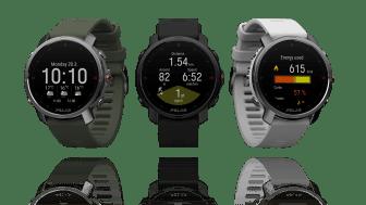 Polar Grit X -outdoor-multisport-kello on saatavilla vihreänä, mustana ja valkoisena