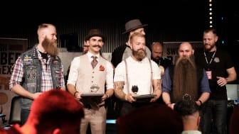Vem har Sveriges snyggaste skägg 2019? (vinnarna från förra årets tävling) / Fotograf: Carl D Marshall, Beardshop.se