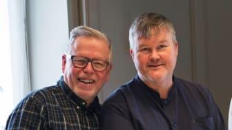 Hans Naess och Mathias Dahlgren