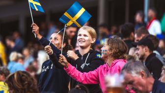 Många göteborgare passade på att besöka 60-årsjubilerande Ullevi under Sveriges gruppspelsmatcher i fotbolls-VM och glädjen går inte att ta miste på.
